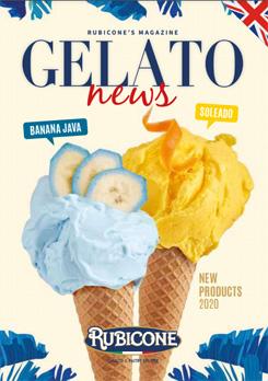 New Gelato & Soft mix Flavours